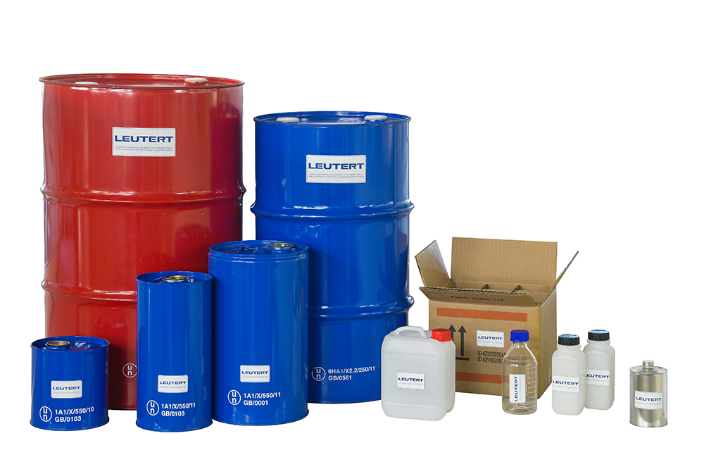 Leutert dead oil and water containers for Surface container